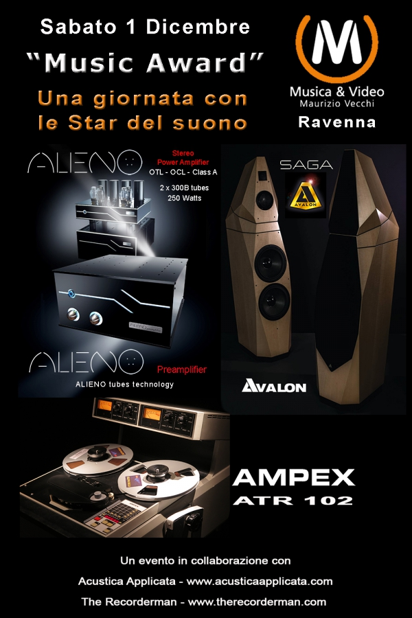 La Classe AAA dell'AUDIO HI-END