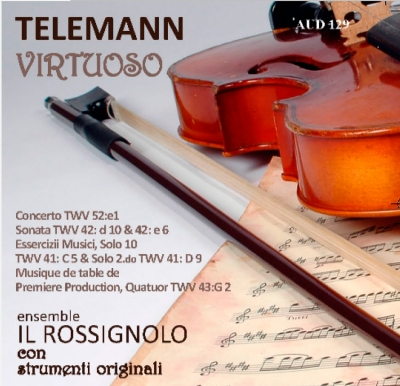 Audiophile Sound 129 - Novembre 2013 - Guida al CD: Telemann Virtuoso